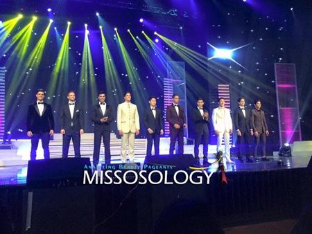 Mister International 2015 Top 10 Evening Wear