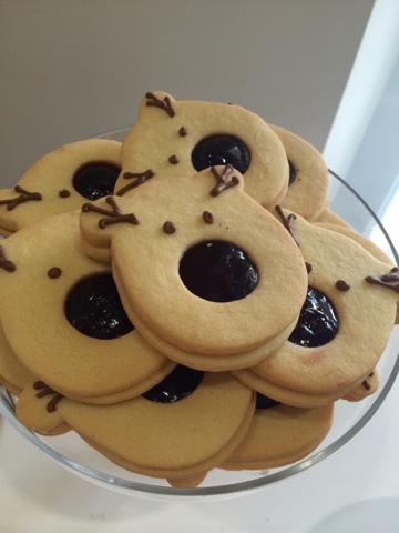 Rudolph biscuits - Little House Lovely - Festive Food