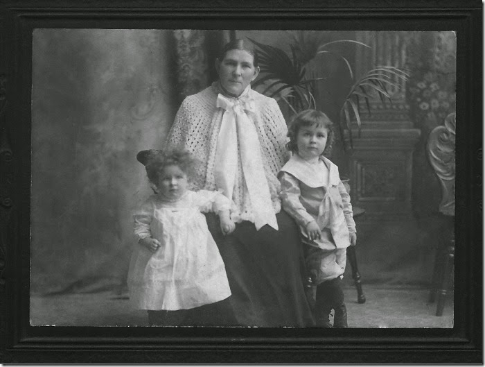 THORP_Catherine with_Annie & Henry_with black frame