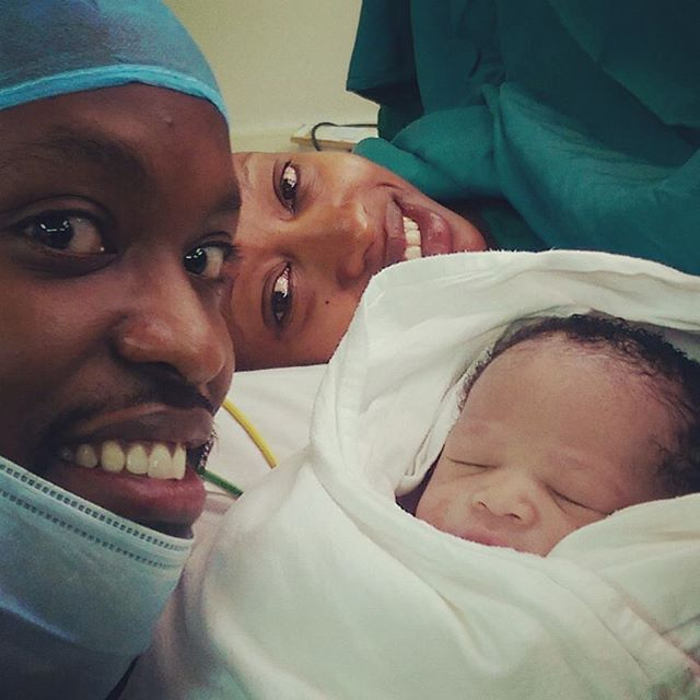 Janet Mbugua Gives Birth