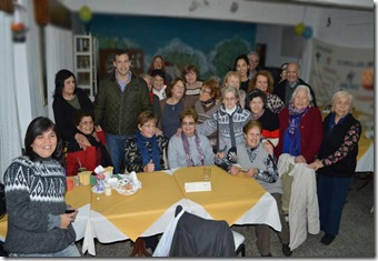 Juan Pablo de Jesús visitó el Centro de Jubilados y Pensionados de Villa Clelia