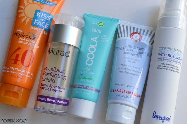 Sunscreen Review Kiss My Face Murad Coola First Aid Beauty Supergoop (3)