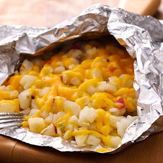 Grilled Cheesy Potato Pack