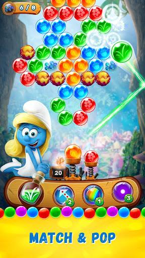 Smurfs Bubble Shooter Story screenshot 1