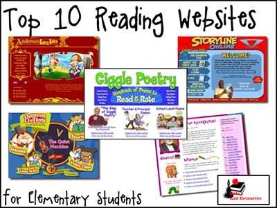 Top 10 Reading Websites