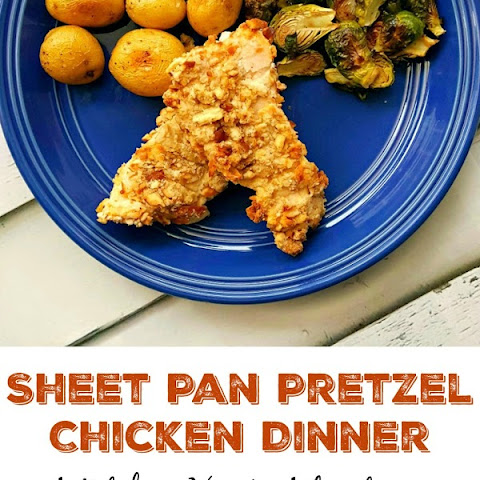 Sheet Pan Pretzel Chicken Dinner