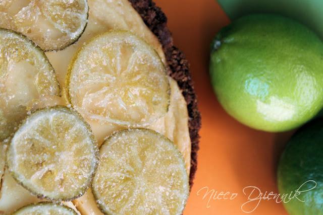 tarta z limonki limonkowa z lemonki lemonkowa
