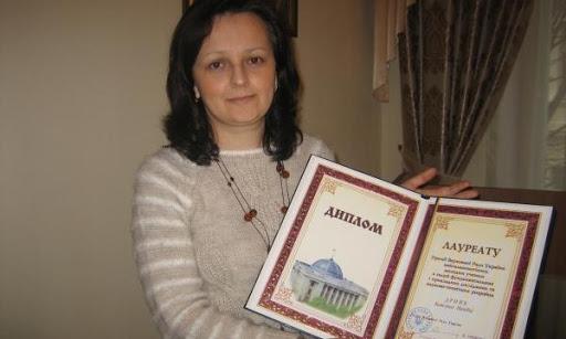 ВІТАЄМО КАТЕРИНУ ДРОНЬ із присудженням премії Верховної Ради України найталановитішим молодим ученим