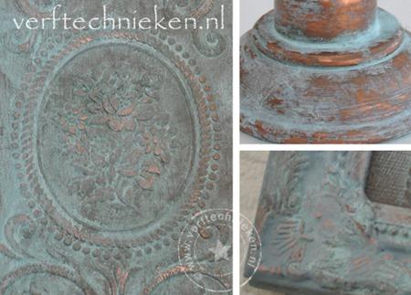 verftechnieken.nl - patina effect