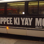 yippee ki yay in New York City, New York, United States