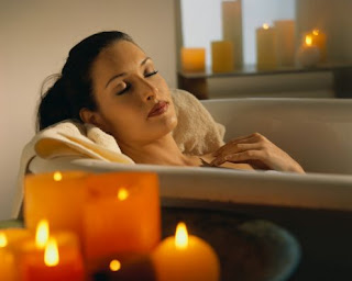 La Cure, Bath Enriched with Dead Sea Crystals. www.brendasjordan.com