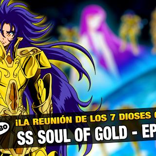 ¡ATENTOS! Que ya se viene el Episodio 4 de Saint Seiya Soul of Gold!