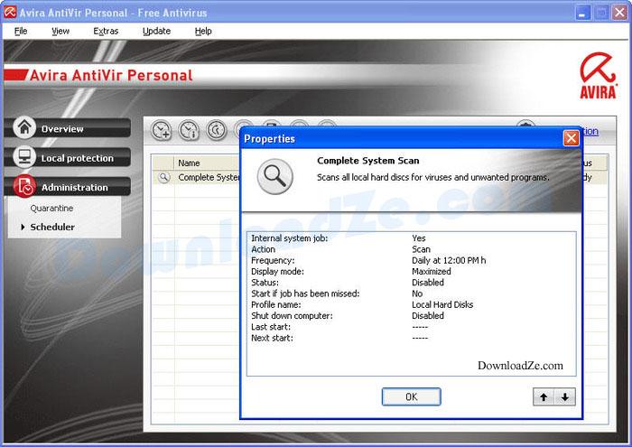 AntiVir Personal 14.0.3.350