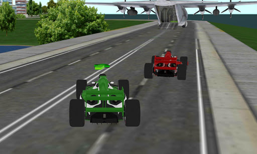 formula racing car cargo plane For PC