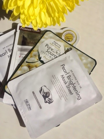 Pearl-Brightening-Sheet-Mask-Memebox