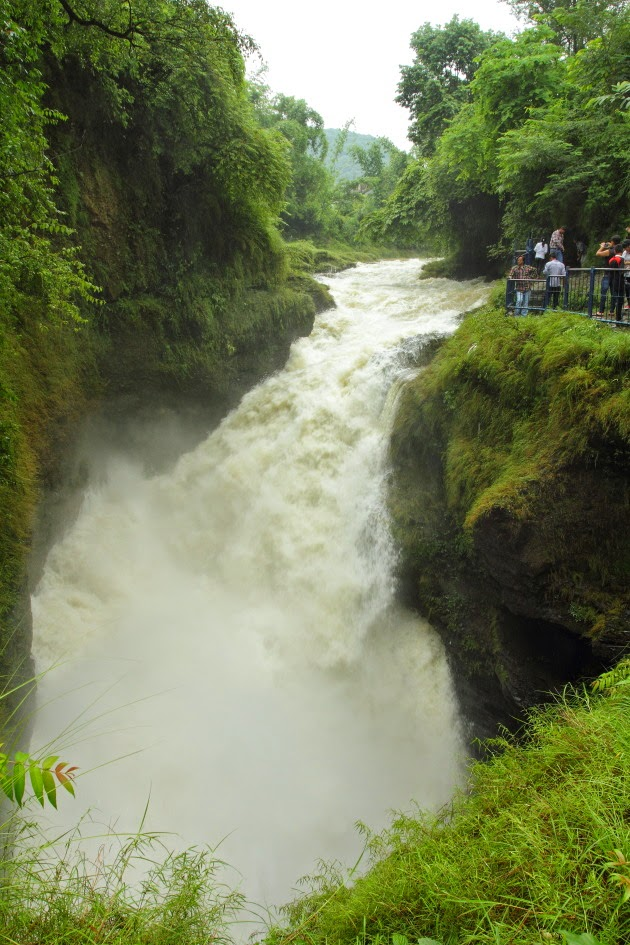 Devi's Falls, near Pokhara, Nepal