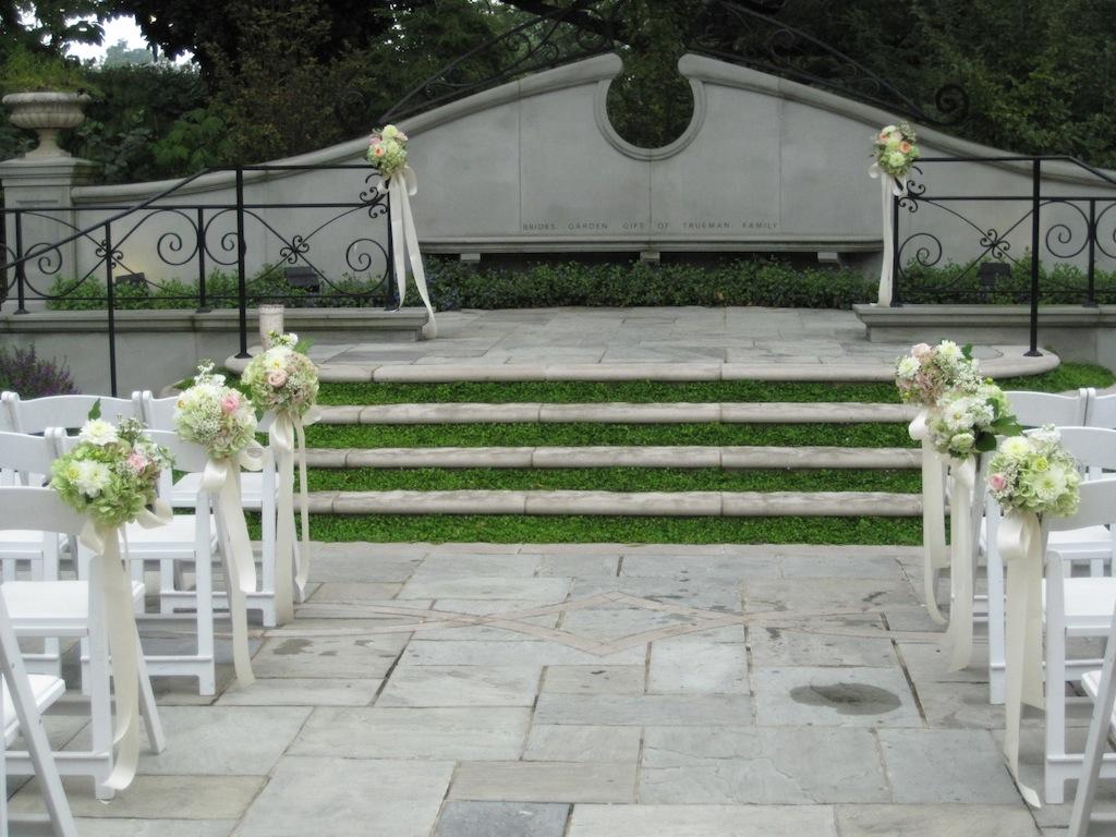 lemon wedding aisle decorations
