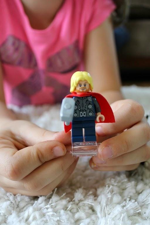Avenger Thor Lego Man