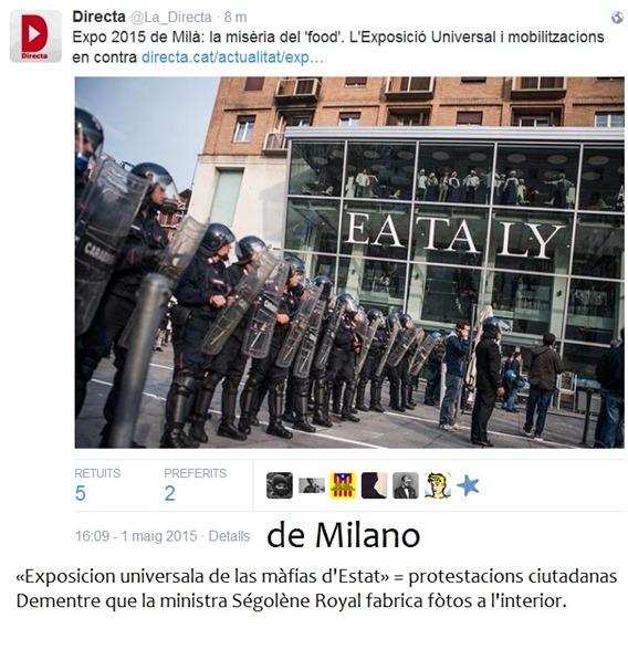 detalh de Milano exposicion universala 2015