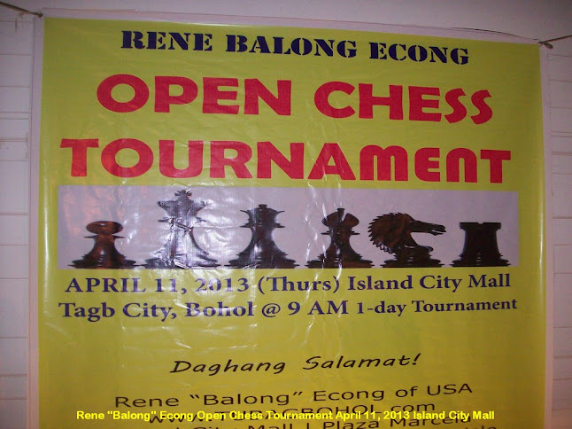"Philippines-Bohol-Chess-Tournament-Balong-Econg00054 - All Set for Rene ""Balong"" Econg Open Chess Tournament Apr 11 - Sports and Fitness"