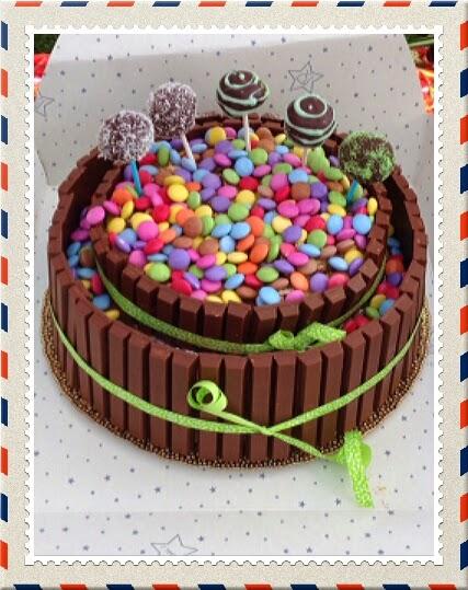 Tortgo Delizie Al Forno Torta Kit Kat E Smarties