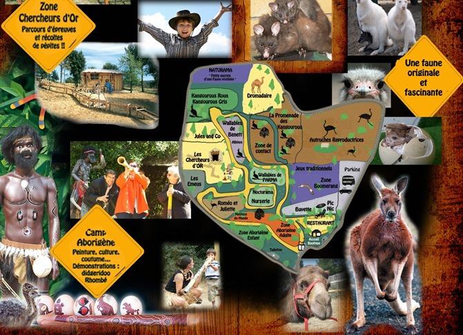 parc australien plan