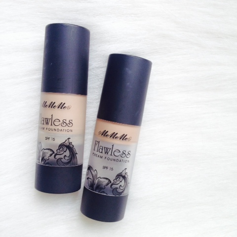 MeMeMe Cosmetics Flawless Cream Foundation