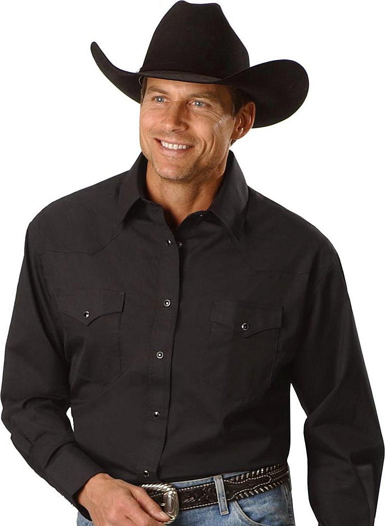 Long Sleeve Cowboy Shirt