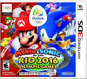 [GAMES] Mario and Sonic at the Rio 2016 Olympic Games (3DS/USA)