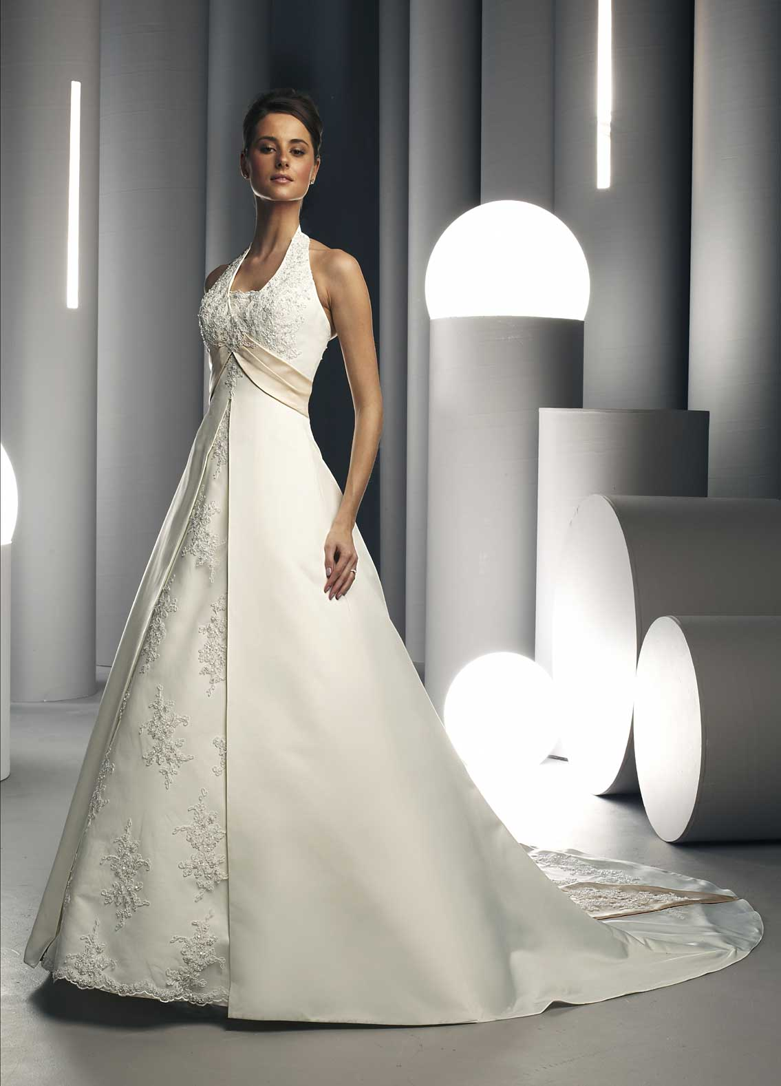 Halter Wedding Gown wedding