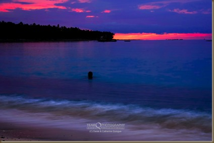 Sunrise at Dahican Beach, Mati