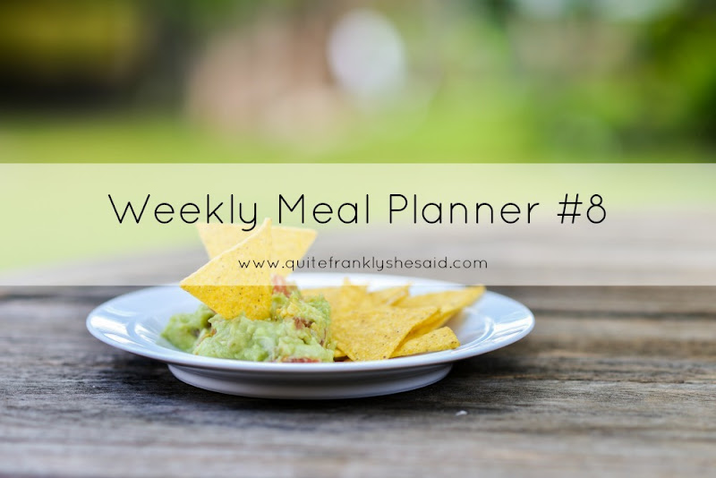 weekly meal planner 8