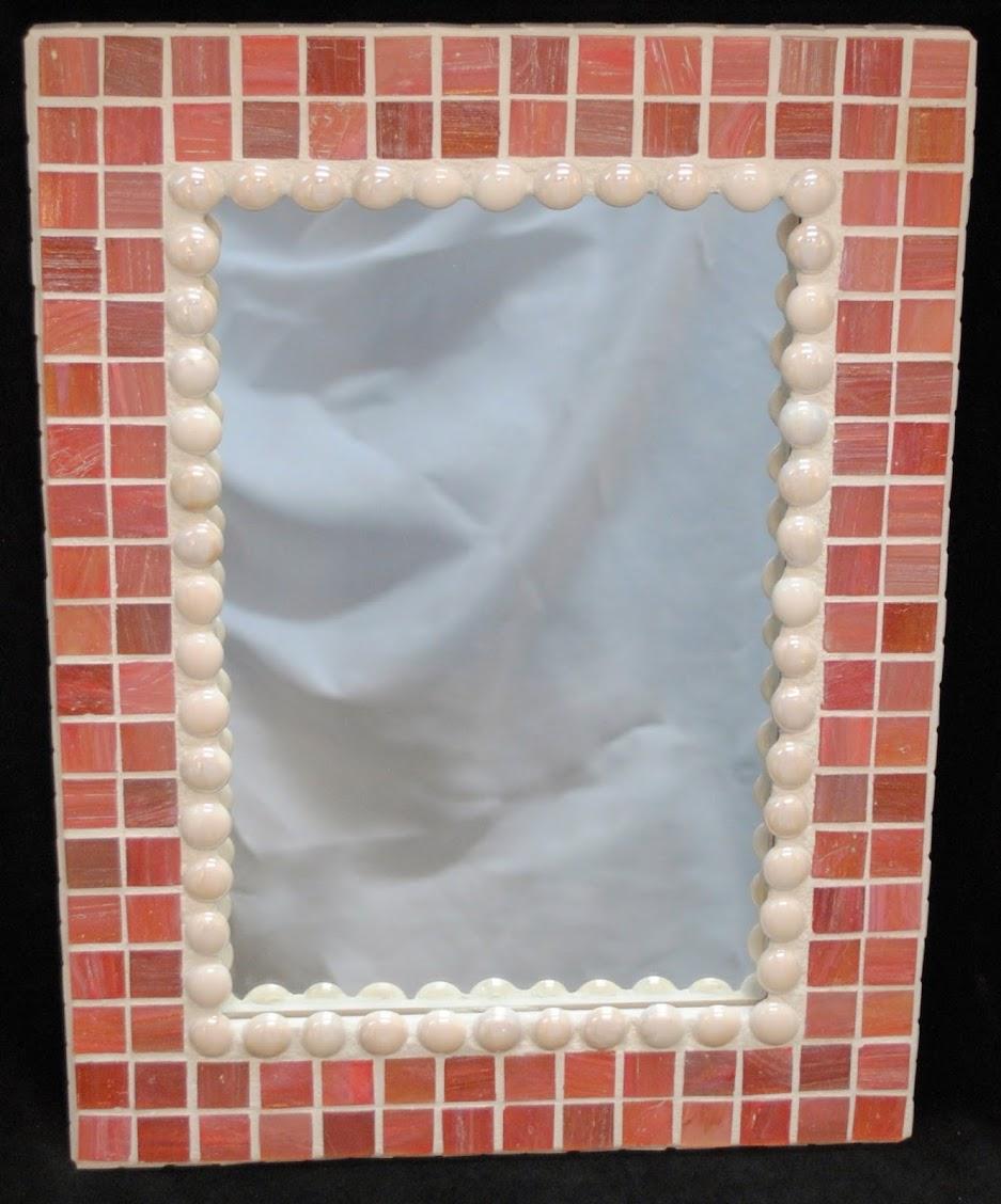 Blushing Bride Mosaic Wall Mirror MOF1001