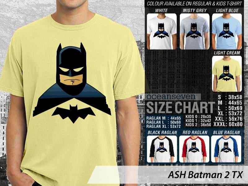 Kaos Superhero Lucu Batman 2 Batman distro ocean seven