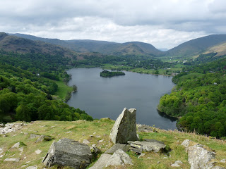 Grasmere from above Loughrigg Terrace