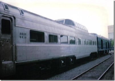 BKSX Dome Coach #9410 at Union Station in Portland, Oregon on May 11, 1996
