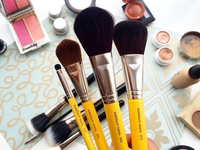review of affordable professional makeup brushes