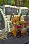 ozdoba samochodowa w busiku - Bali