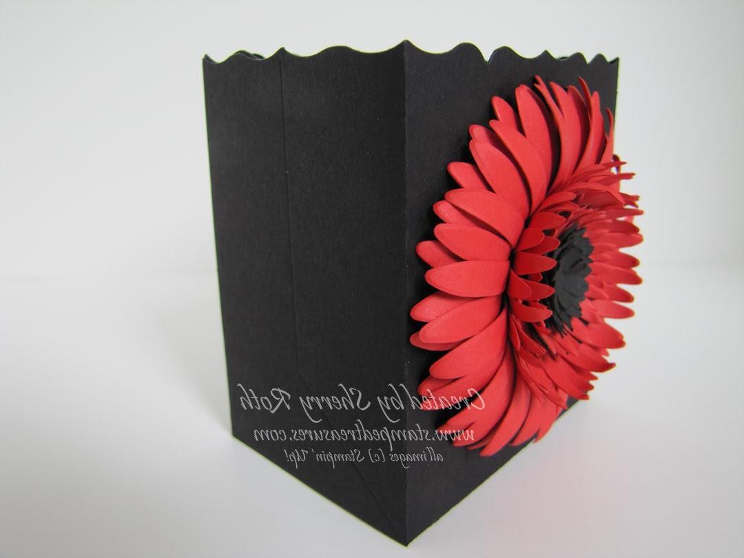 Ninette\'s blog: daisy wedding card. CWD005