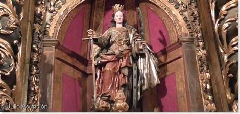 Escultura de Santa Catalina - Cirauqui