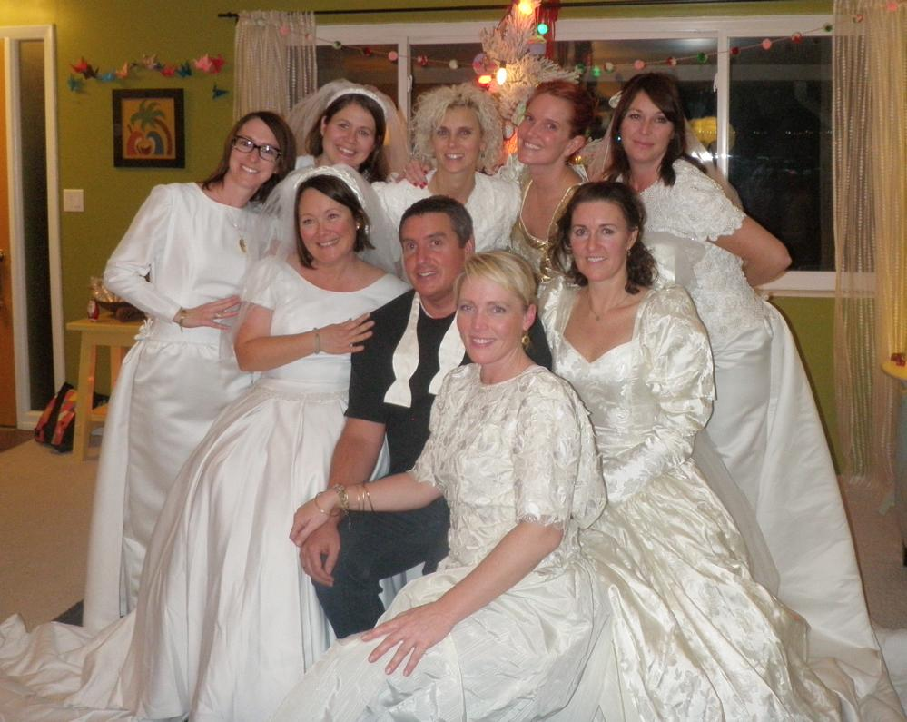 wedding dress party