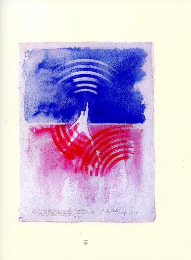 Soy el poeta del cuerpo Técnica mixta sobre papel 73 x 55 cm Buenos Aires 1998