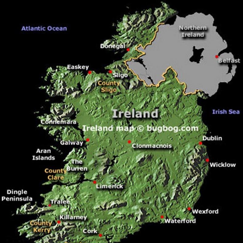 Irlanda tra natura e leggenda.