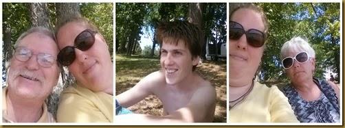 Faces at the Lake
