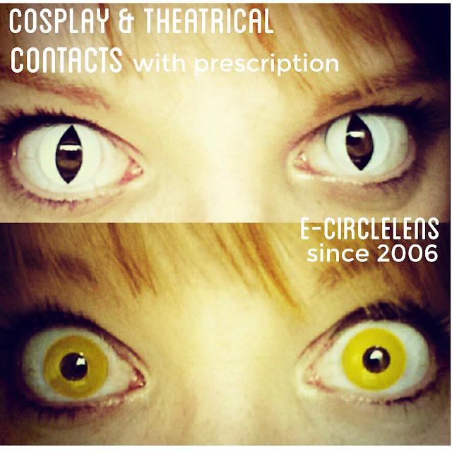 Cosplay Contacts at e-circlelens.com