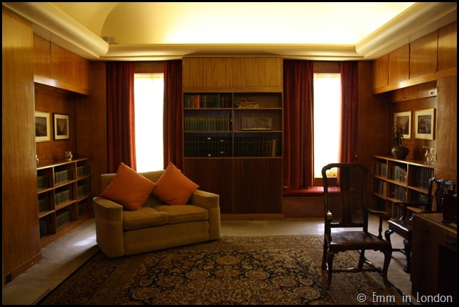 Eltham Palace - The Library