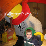 Bryan in the Lego Store at Water Tower Place in Chicago 01142012