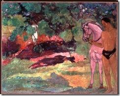 US-ART-MUSEUM-GAUGUIN MANAO TUPAPAU