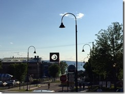 Burlington lamppost