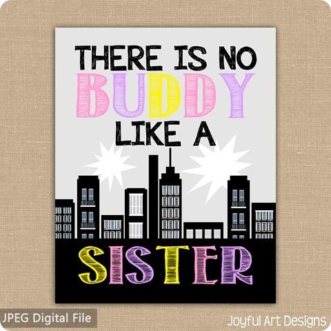 ETSY Listing Buddy Sister